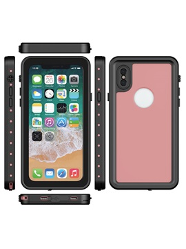 Iphone X Phone Case Up To 3 Meter Waterproof Support Wireless Charging