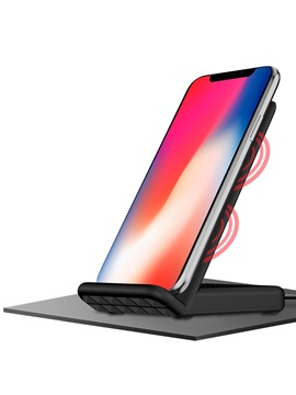 Iphone X Qi Wireless Charger Fast Wireless Charger Pad For Iphone Samsung
