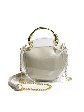Colorfur Chain Crossbody Bag