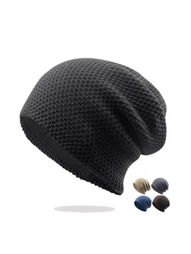 Fashion Cotton Blends Mens Knitted Hats