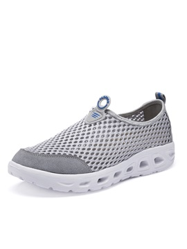 Mesh Slip On Mens Casual Shoes
