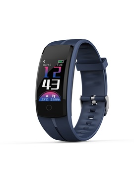 Qs100 Waterproof Smart Band Heart Rate Blood Pressure Monitor Pedometer For Men Women Kids