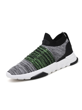Mesh Color Block Mens Breathable Sneakers