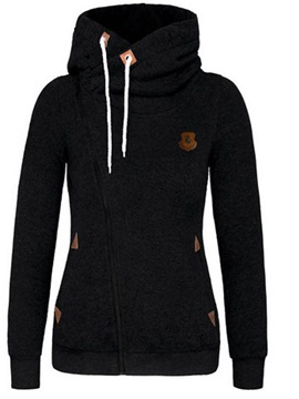 Lace Up Womens Hoodie