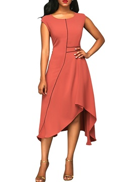 Sleeveless Summer Elegant Womens Maxi Dress