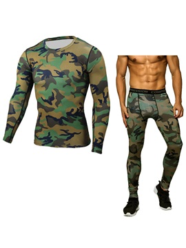 Mens Camouflage Breathable Quick Drying Suit
