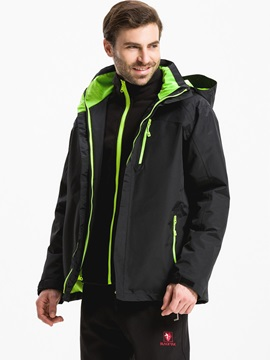 Breathable Two Piece Mens Outdoor Jacket