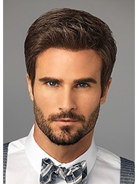 Short Cut Synthetic Hair Mens Wig