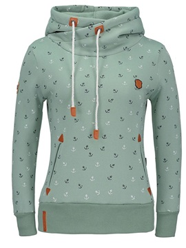 Print Pullover Fall Thin Womens Hoodie