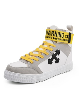 High Cut Upper Mens Skate Shoes