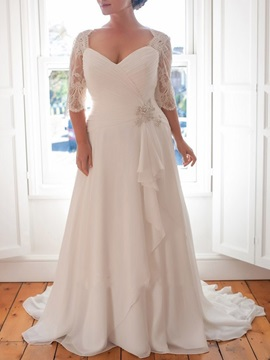 Plus Size Wedding Dresses Under 100 Tidebuy Com