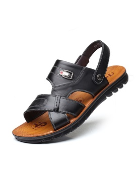 Plain Slip On Mens Sandals