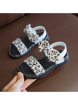 Leopard Summer Kids Sandals