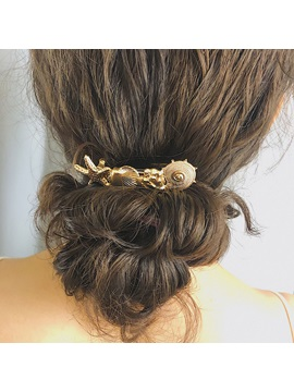 Barrette Women Ethnic Style Hair Accessories