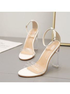 Open Toe Chunky Heel Heel Covering Casual Sandals