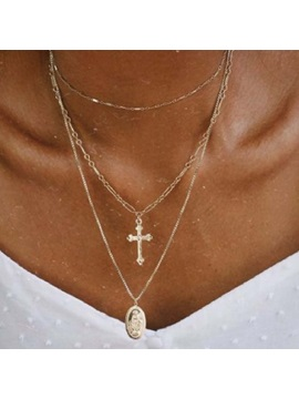Pendant Necklace Cross Unisex Necklace