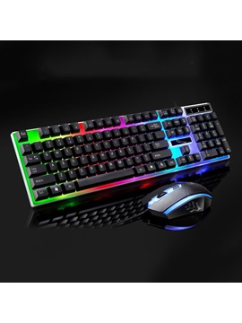 Wired Usb Desktops Mouse Keyboard Sets