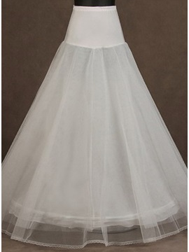 Delicate White Tulle Wedding Petticoat