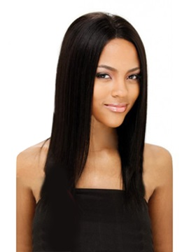 African American Amazing Celebrity Hairstyle Long Straight About 16 Inches Best Lace Wig