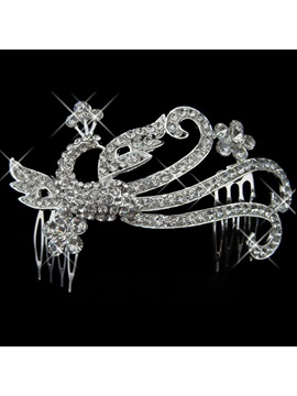 New Alloy With Rhinestone Wedding Bridal Tiara