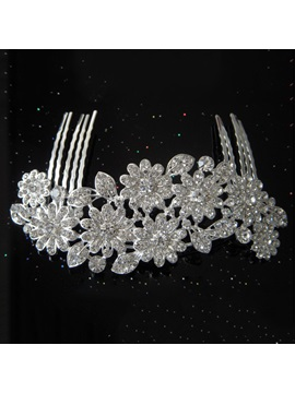 Top Quality Alloy With Rhinestone Wedding Bridal Tiara