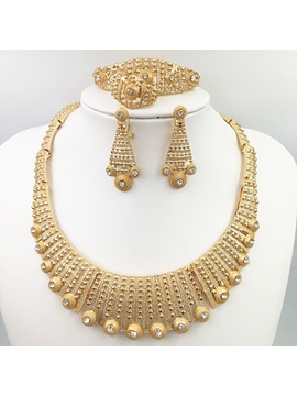 Necklace Diamante Vintage Anniversary Jewelry Sets