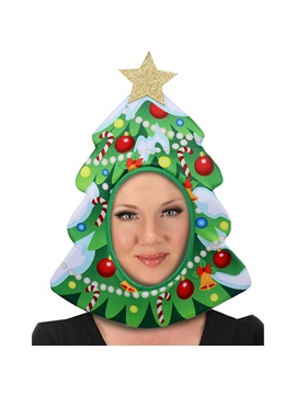 Christmas Decorations Cosplay Holiday Party Dance Performance Props Headgear Christmas Hat