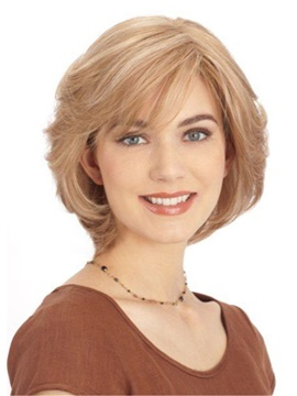 Synthetic Bob Wig Capless Synthetic Hair 12 Inches Women Wig