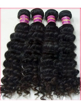 New Top Quality Curly Human Hair Weave 100g Piece