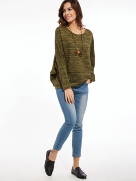 Stylish Casual Round Neck Loose Sweater