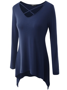Long Sleeve Regular Blouse