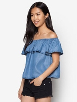 Stylish Off-the-Shoulder T-Shirt