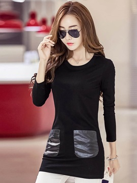 Stylish Pockets Slim T-Shirt