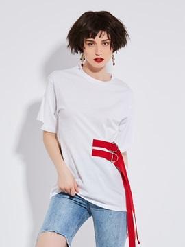 Stylish Loose Round Neck T-Shirt