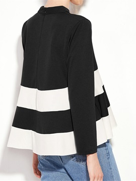 Loose Color Block T-Shirt