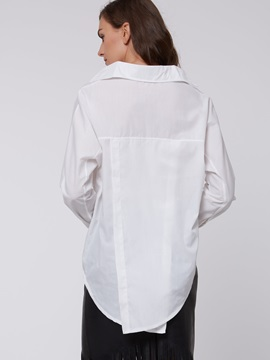 Simple Long Sleeve Loose Shirt