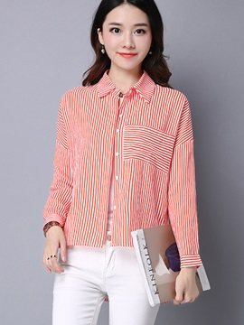 Stylish Stripe Long Sleeve Shirt