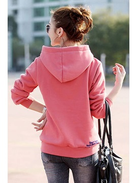 New Chic Korean Style Slim Hoodie