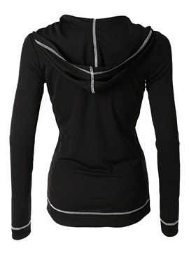 Casual Hooded Zipper Decoration Hoodie