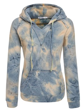 Stylish Multi Color Tie-dyed Hoodie