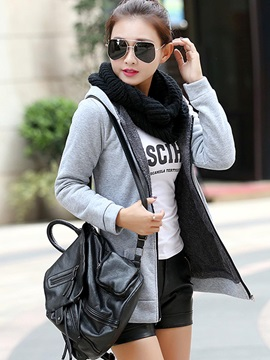 Stylish Multi Color Zippered Hoodie