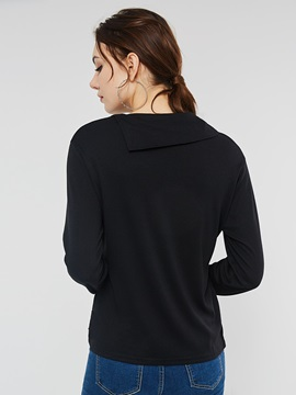 Plain Regular Winter Women's Hoodie