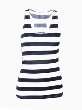 Casual Style Printing Tank Top
