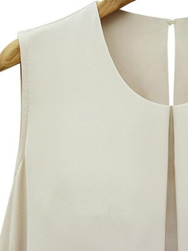 Special Double-Layer Chiffon Tank Top