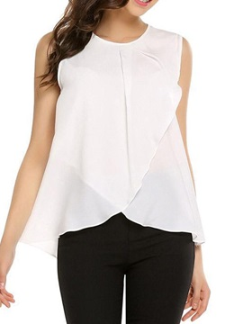 Plain Suspenders Loose Women's Tank Top