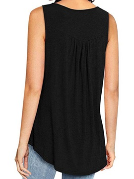 Polyester Spring Mid-Length Women's Tank Top