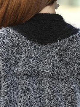 Loose Irregular Mid-Length Knitwear