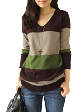 Long Sleeve Pullover Mid-Length Knitwear