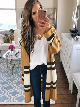 Striped Color Block Women's Cape