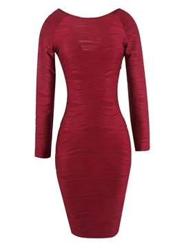 Tidebuy Knee-Length Pullover Pencil Women's Bodycon Dress